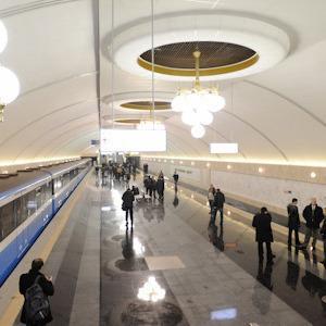Фоторепортаж: В Киеве открылась новая станция метро — Фоторепортаж на The Village Україна