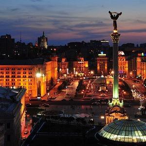 «Час Земли» в Киеве: Центр без электричества, велосипедисты со светодиодами и фильм Люка Бессона — Ситуація на The Village Україна