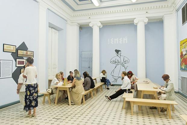 У Національному художньому музеї відкрили поп-ап кафе «Еней» — Нове місце на The Village Україна