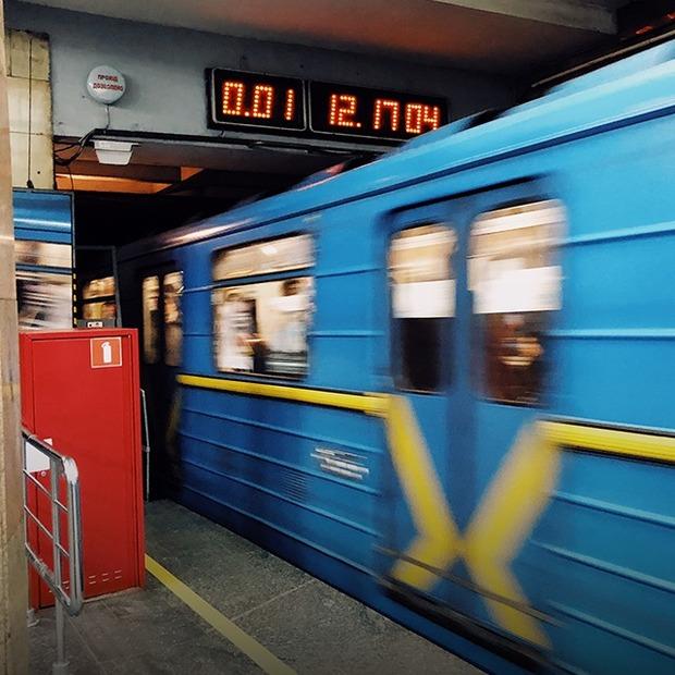 Чому таймер у метро не показує часу прибуття потяга