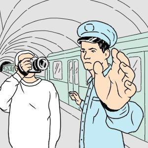 Есть вопрос: Почему нельзя фотографировать в метро? — Є питання на The Village Україна
