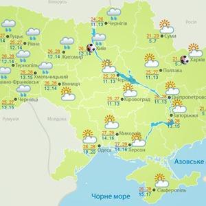 Погоду на Евро будут публиковать на отдельном сайте — Євро-2012 на The Village Україна