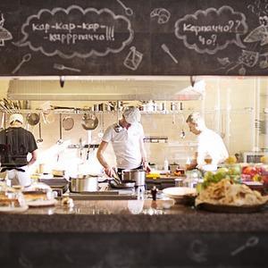 Новое место (Киев): Ресторан Carpaccio Cafe — Нове місце на The Village Україна