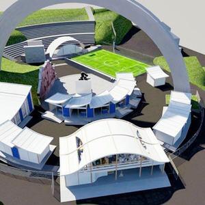 Под аркой Дружбы Народов будут показывать фильмы и проводить выставки — Євро-2012 на The Village Україна