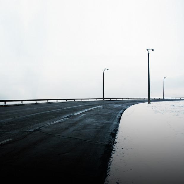 Камера спостереження: Київ у тумані на фото Дмитра Богачука