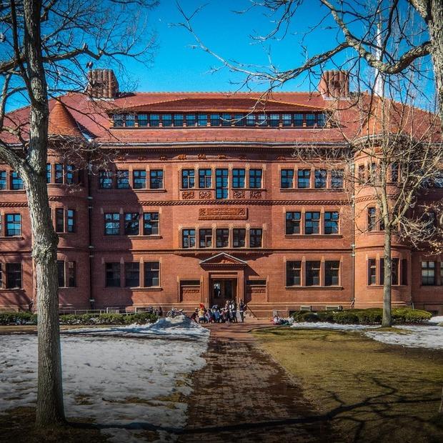 Я навчаюся в Гарварді