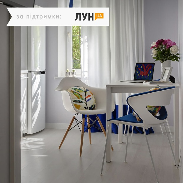Однокімнатна квартира з квітковим англійським текстилем — Квартира тижня на The Village Україна
