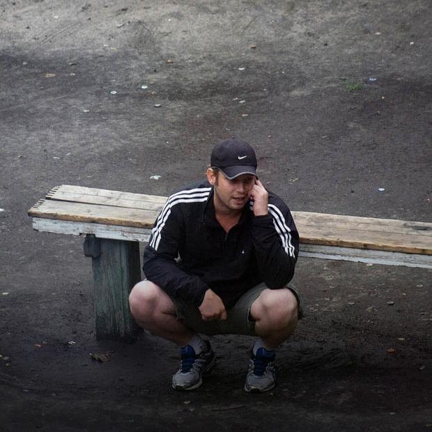 Камера спостереження: одна київська лавка Євгена Котенка