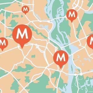 Округлые формы: Киевская кольцевая наземного метро — Транспорт на The Village Україна