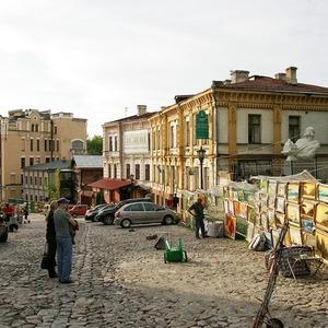 Андреевский спуск закрыли на ремонт — Ситуація на The Village Україна