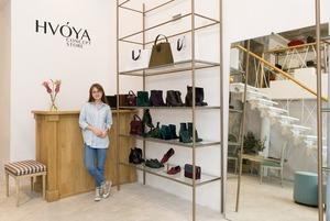Українське взуття в концепт-сторі HVOYA