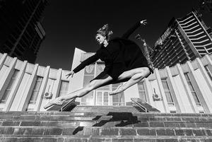Балет і київська архітектура: фотопроект Radio & Juliet and Quatro