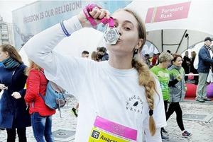 Київський марафон на знімках в Instagram
