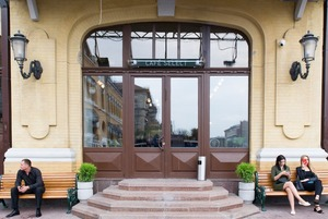 Cafe Select Eatery на Бессарабці