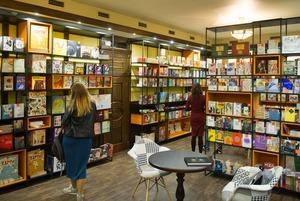 Книгарня-кав'ярня Старого Лева на Прорізній
