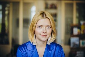 Дана Павличко, директорка видавництва «Основи»