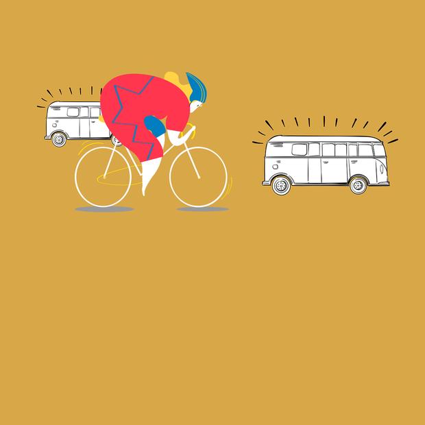 Велосипедистам дозволили рухатись у смузі з маршрутками. Це добре чи погано? — Транспорт на The Village Україна