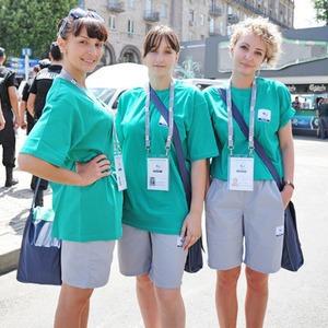 Люди в зелёном: Волонтёры — о гостях Евро-2012 — Євро-2012 на The Village Україна