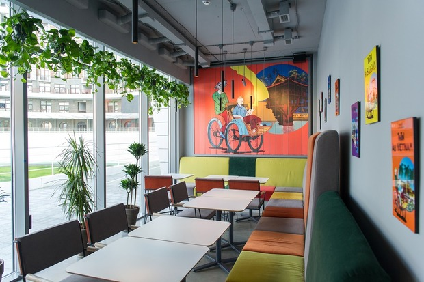 В'єтнамський ресторан Tin Tin на велотреку