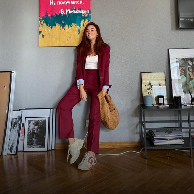 Анна-Марія Коваль, 30 років, засновниця студії Anna-Maria decor — Зовнішній вигляд на The Village Україна