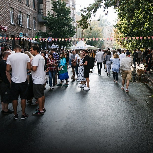 «Район #1 Block Party»: гід осінньою вечіркою на Рейтарській — Гід The Village на The Village Україна