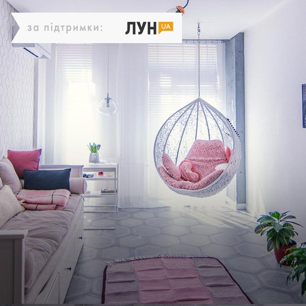 Світла квартира з квітковим декором та кріслом-гойдалкою — Квартира тижня на The Village Україна