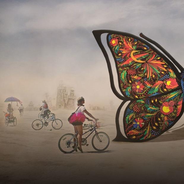 На Burning Man 2019 везуть українського метелика: що треба знати про Catharsis — Арт на The Village Україна