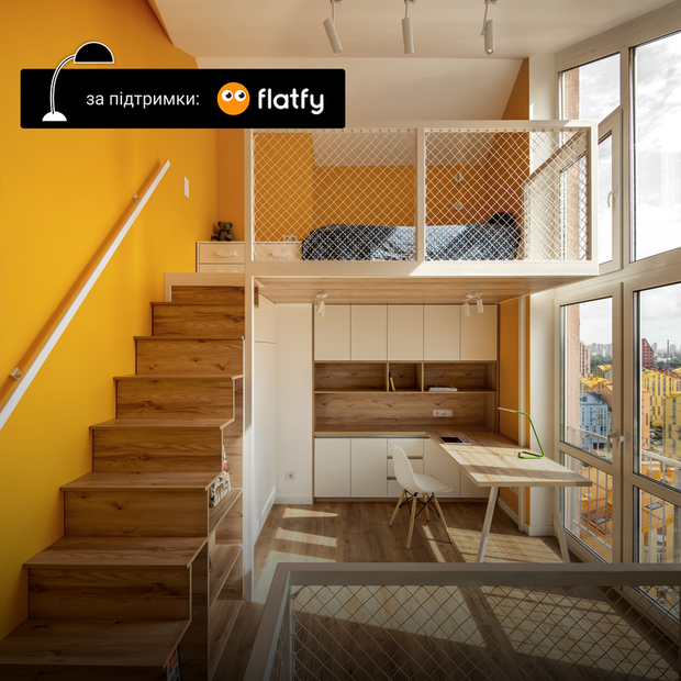 Трирівнева квартира з мансардою в «Комфорт Тауні» — Квартира тижня на The Village Україна