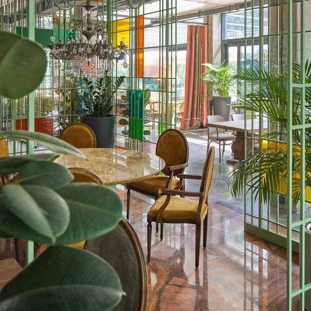 Сімейний ресторан «Бelkin» у парку Пушкіна — Нове місце на The Village Україна