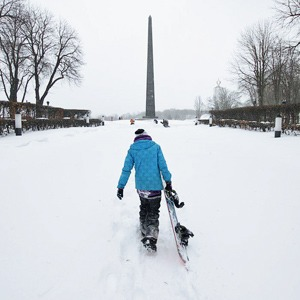 Снег в городе. День второй — Місто на The Village Україна