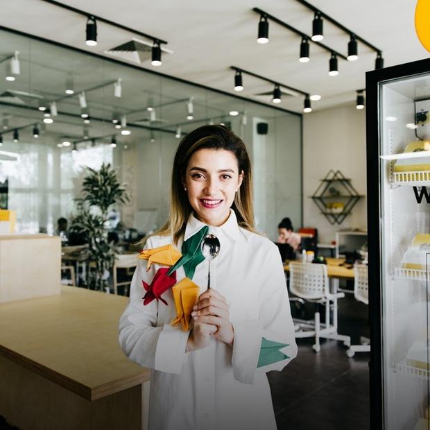 Eat Easy: офіс зі здоровою їжею на іподромі  — Офіс місяця на The Village Україна