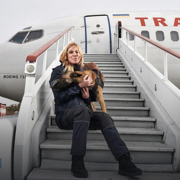 Це жінки, які працюють в аеропорту «Бориспіль»