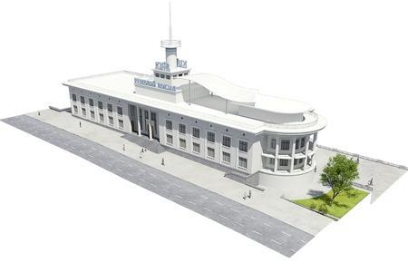 Реконструкция: Как будет выглядеть Речной вокзал — Архітектура на The Village Україна