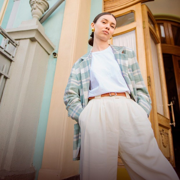 Таня Кравчук, 27 років, блогерка та модель — Зовнішній вигляд на The Village Україна