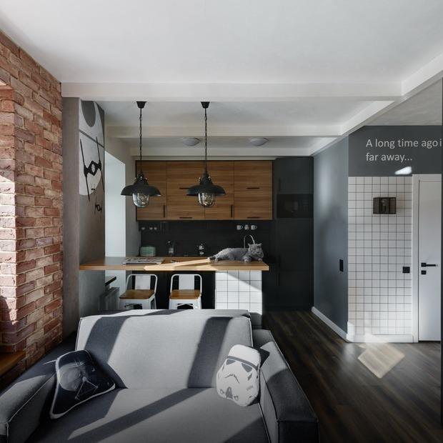 Квартира холостяка у стилі «Зоряних війн»