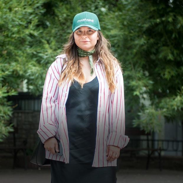 Настя Івченко, 24 роки, директорка з комунікацій у Sleeper — Зовнішній вигляд на The Village Україна