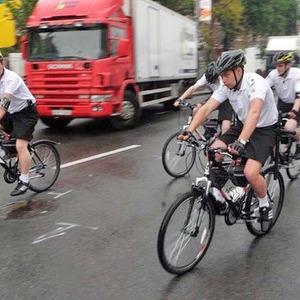 В фан-зоне Евро-2012 начал работать велопатруль — Євро-2012 на The Village Україна