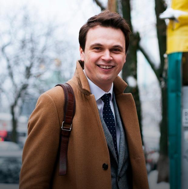 Микола Давидюк, 29 років, політолог — Зовнішній вигляд на The Village Україна