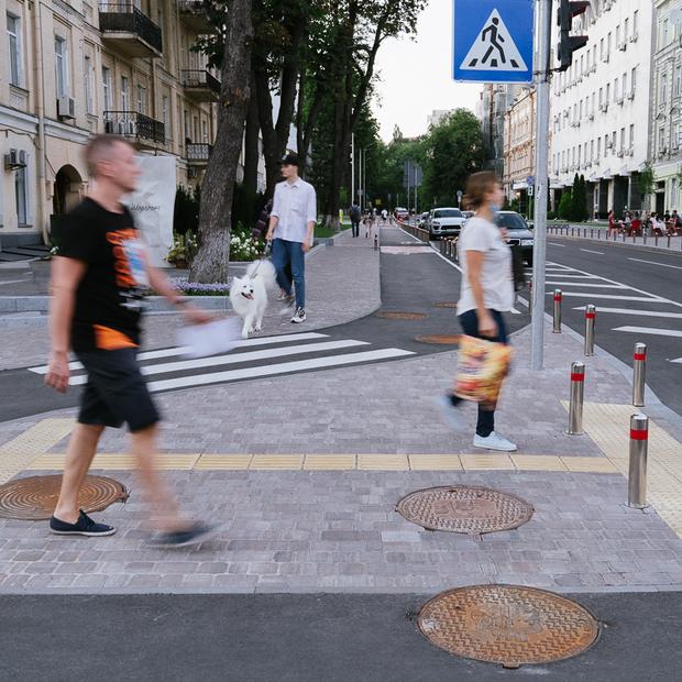 У Києві з'явилося перше велосипедне перехрестя «здорової людини». Що ще потрібно змінити