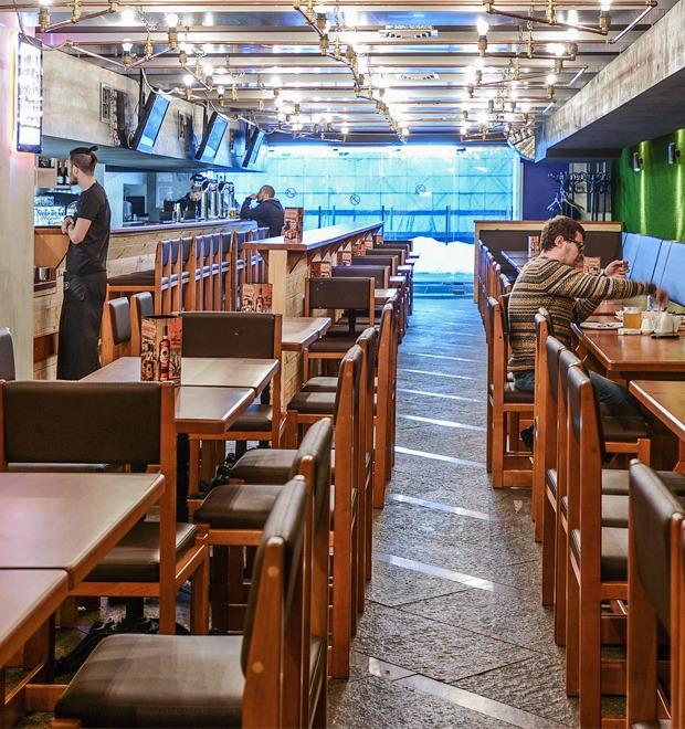 Новое место (Киев): Чураско-бар Pivbar Beer & Beef — Нове місце на The Village Україна