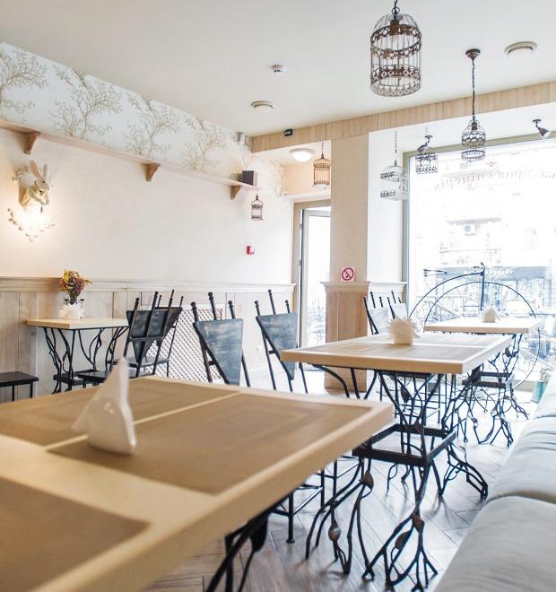 Новое место (Киев): Кофейня-пиццерия Scorini Wonderland — Ресторани на The Village Україна