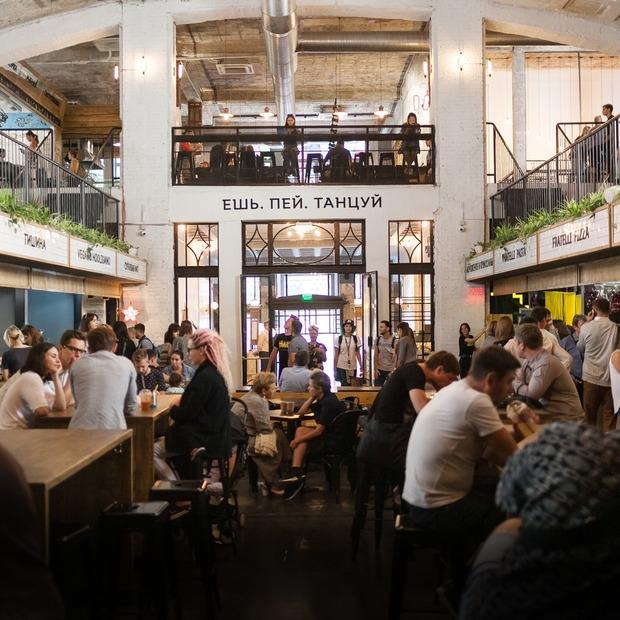Їж, пий, танцюй: Міський ринок їжі Алекса Купера (Одеса)