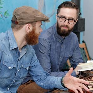 На завтрак: Антон Або и Тарас Шевчук — о создании марки Syndicate — Місто на The Village Україна