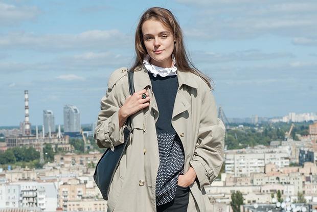 Олександра Даруга, 22 роки  — Зовнішній вигляд на The Village Україна