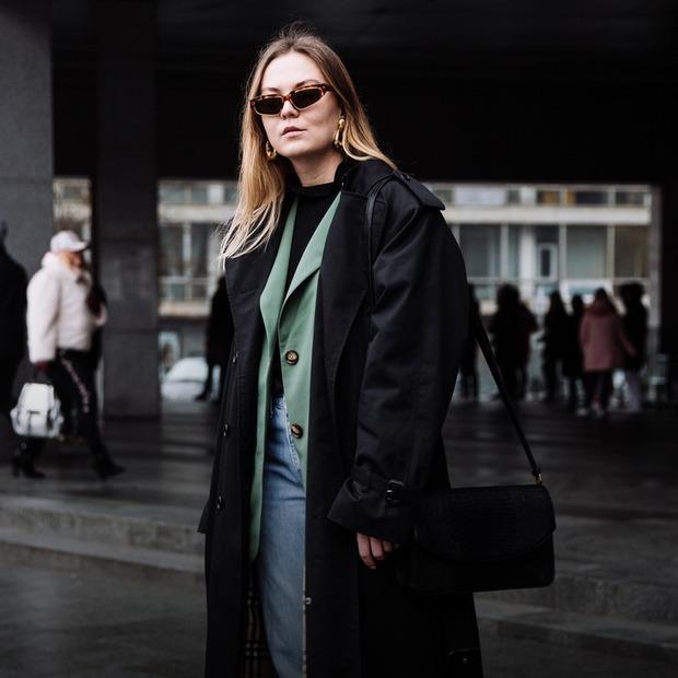 Оля Штаба, 28 років, співвласниця бренду Early morning in Paris та баєрка вінтажу — Зовнішній вигляд на The Village Україна