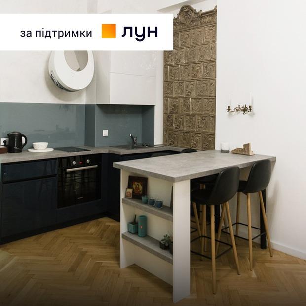 Столітня піч зі Львова у квартирі на Ярославовому Валу