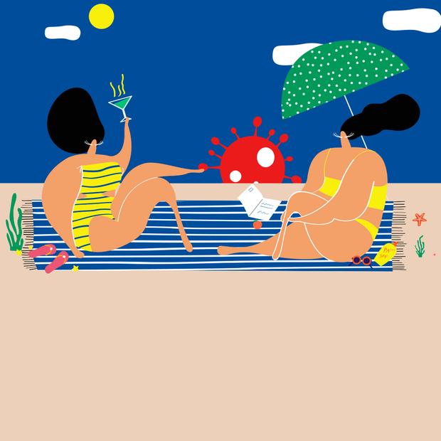 Чи можна заразитися коронавірусом на пляжі й у воді — Є питання на The Village Україна
