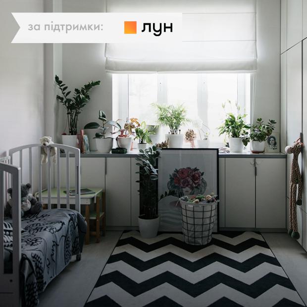 Квартира художницi Лiлiт Саркiсян з малюнком на стіні