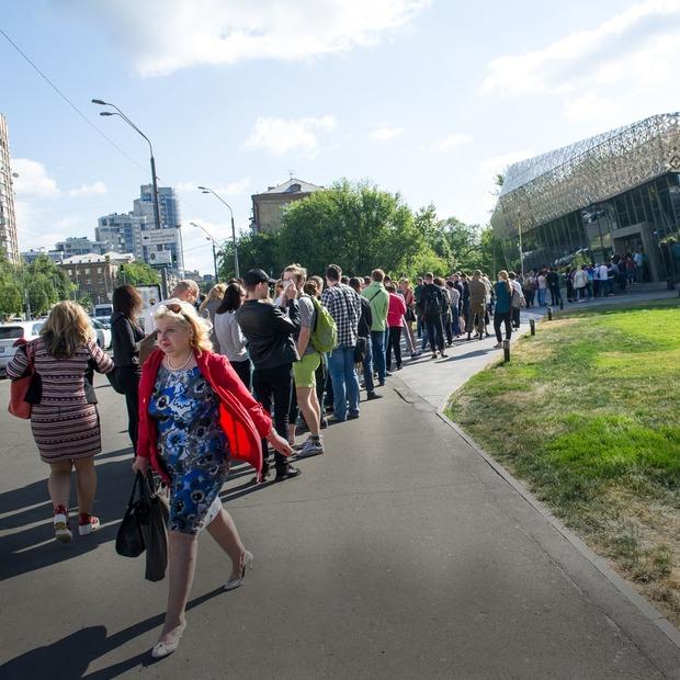 Черга за біометричним паспортом  — Фото дня на The Village Україна