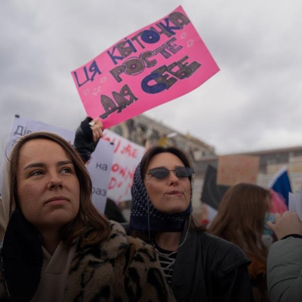 «Повага замість квітів»: як пройшов Марш жінок 8 березня
